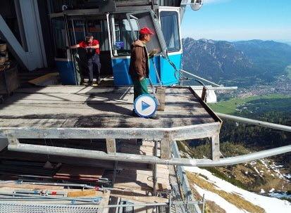 Hochalmbahn im Wettersteingebirge